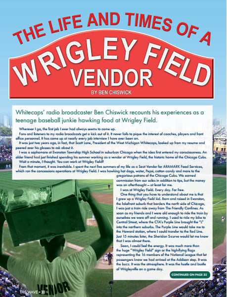 The Life and Times of a Wrigley Field Vendor